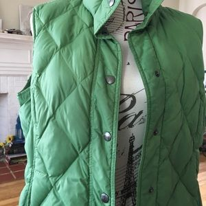 Land's End quilted vest